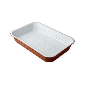 Vaschette Alluminio Bianco/Rame